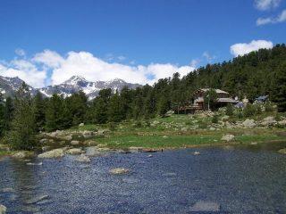 Il Lago e il Rifugio Bagnour