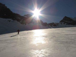 il ghiacciaio d'Alberon