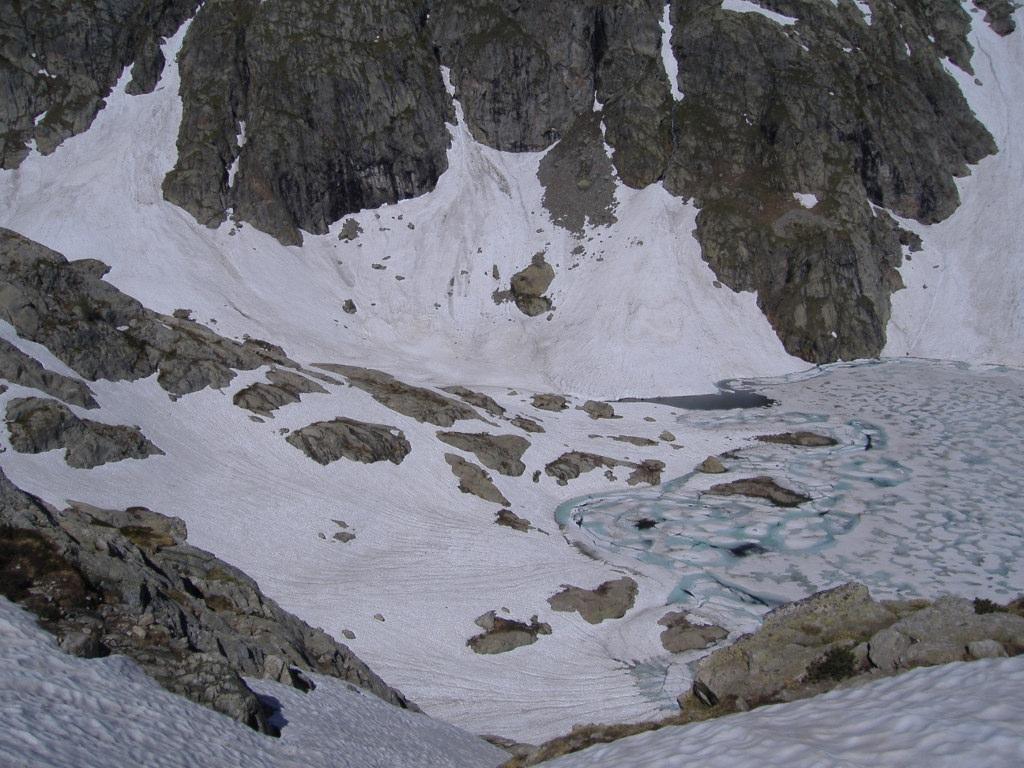 Vista dai montarozzi sul Lac Noir
