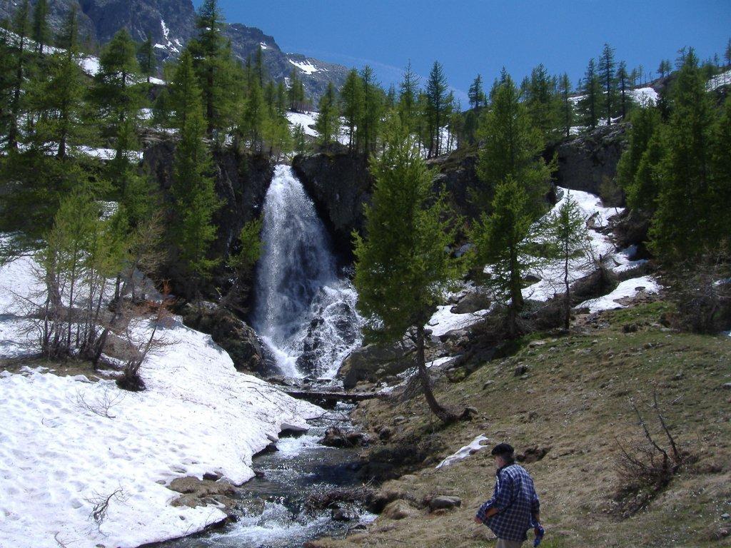 Cascata in cima alla Valmasque
