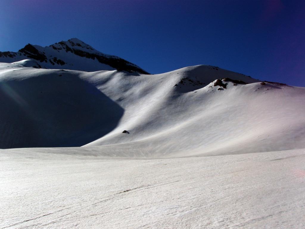 Primo sole presso il Col d'Arberon