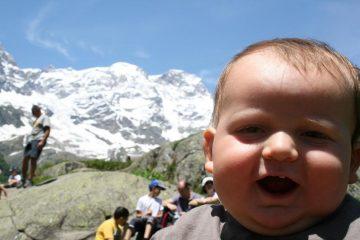 Lorenzo e il Monte Rosa