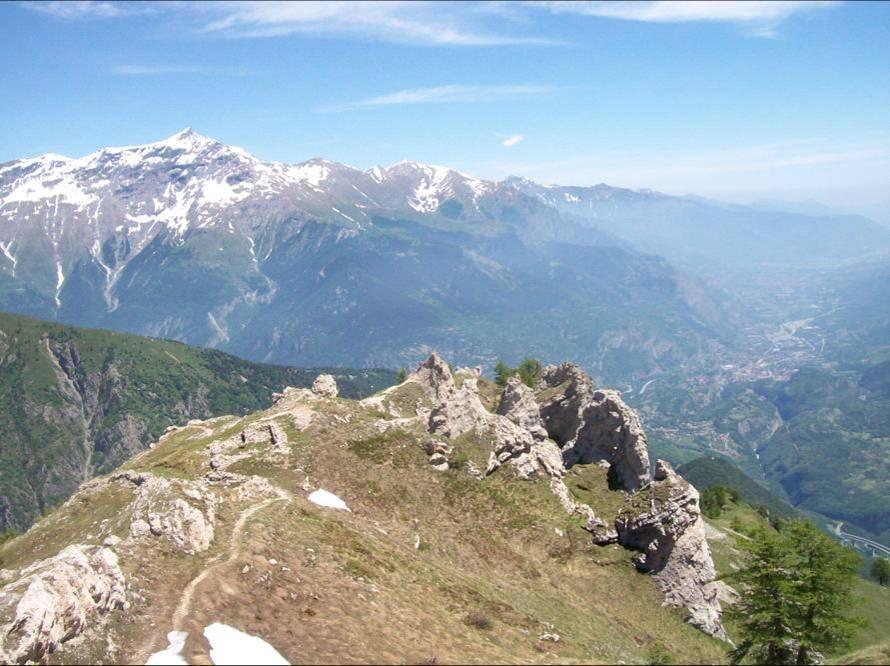 Vista sulla Valle e sul Rocciamelone