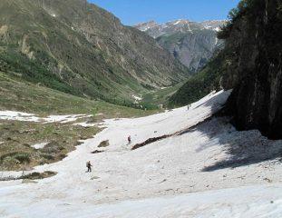 fine della neve a 2000m