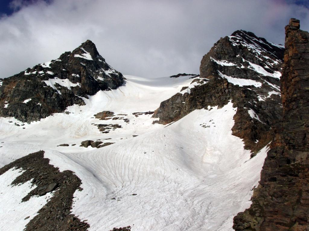 L'alto vallone di salita