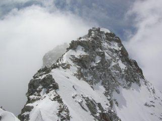 La cima del Gran San Pietro vista dal Colle di San Pietro.