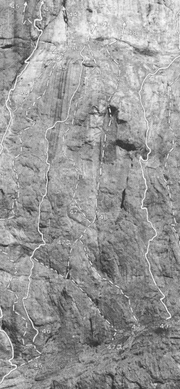 Marmolada D'Ombretta Via Schwalbenschwanz (Coda di Rondine) 2007-06-05