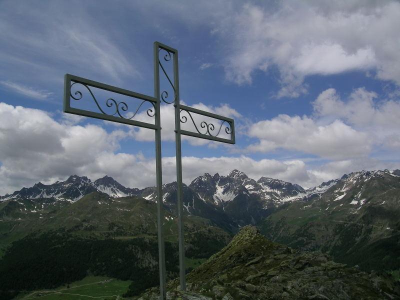 La cima della Becca d'Aver