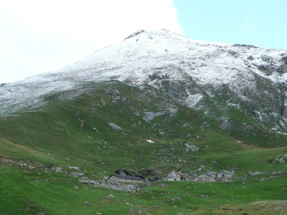 La Rossa e alpe Coassolo.