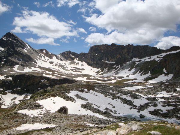 Monte Chersogno e conca del Lago Camoscere