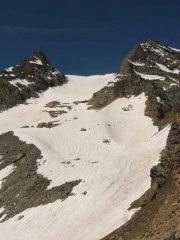 ghiacciaio del Carro-che discesa!