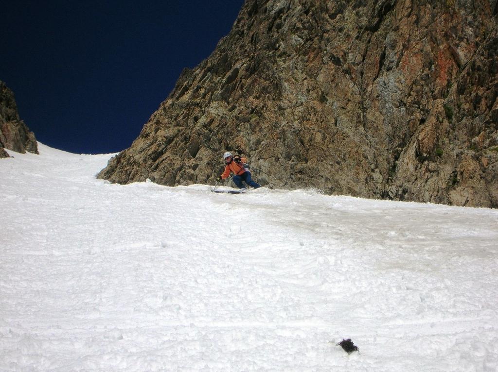 Finalmente si mettono gli sci ....