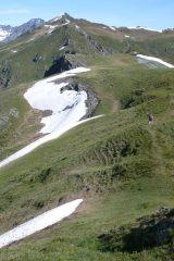 La cresta verso Punta di Grifone