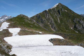 Ultimo tratto della cresta verso Punta di Grifone