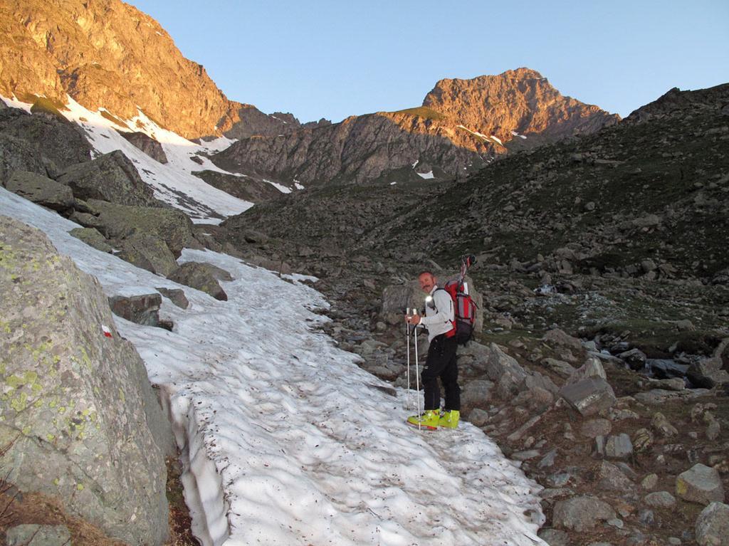 la neve a 2200m