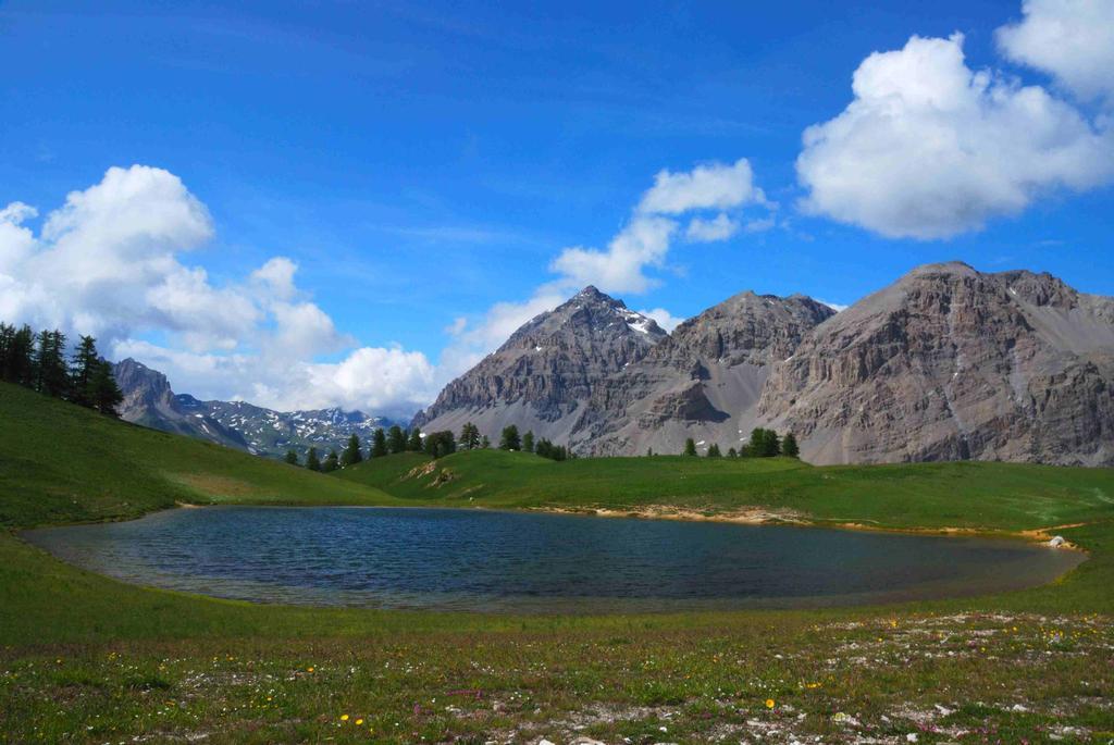 il lago dopo il colle