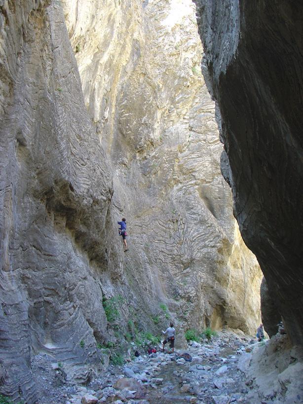 verso il fondo del canyon