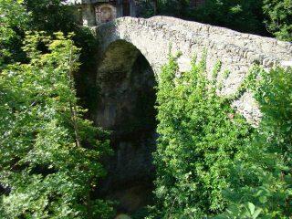 il ponte romano a Ribordone