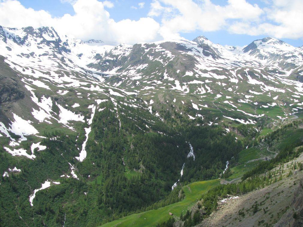 Il vallone dei Banchi visto dalla cresta