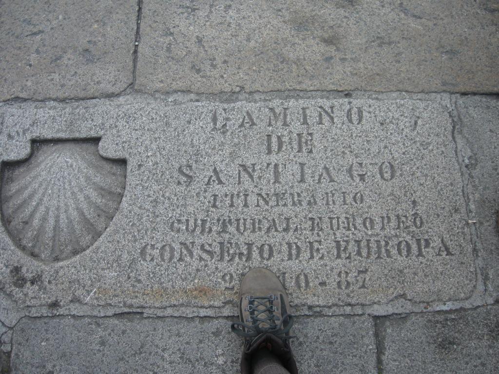 L'arrivo a Santiago
