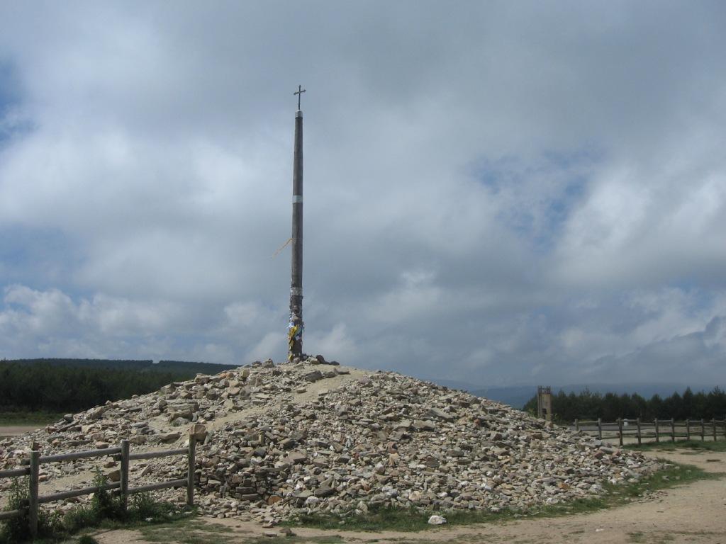 La cruz de hierro 1505 mt.