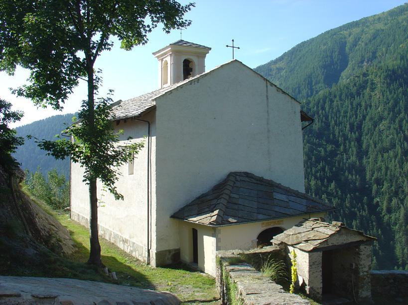 la chiesa di Chasteiran