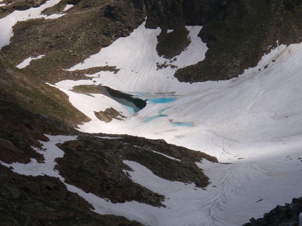 Il bel colore del lago Arpisson