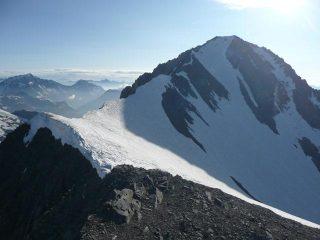 la cresta finale da le Pointes de Fournache
