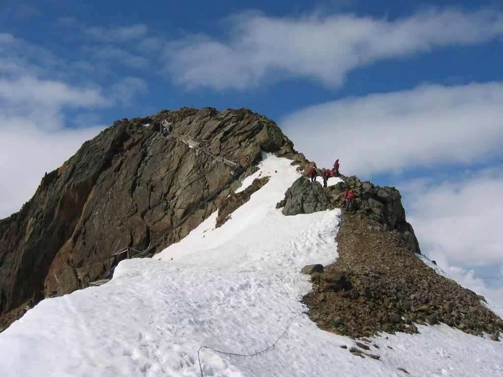 La cima della Punta Cadini