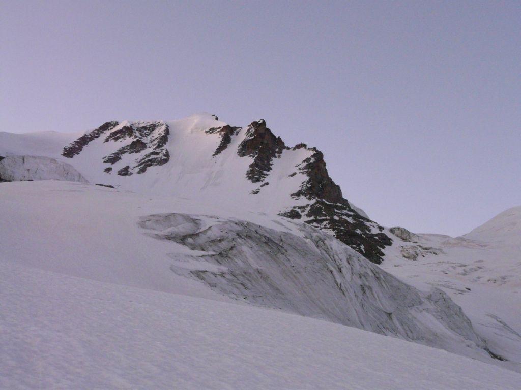 parete nord-ovest della cima