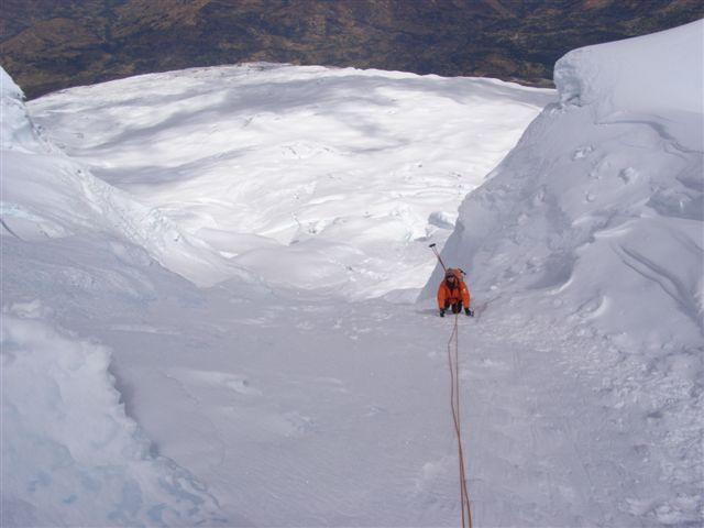 HUASCARAN SUD CANALETA 5800 M