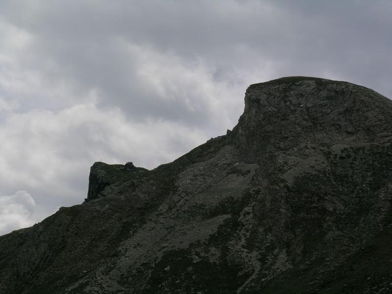 La cima, quella a sinistra