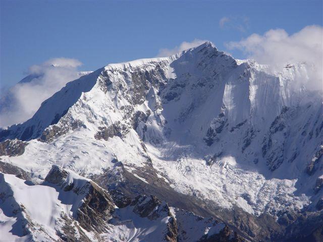 Copa Cordillera Blanca cresta ovest e parete sud 2009-07-09