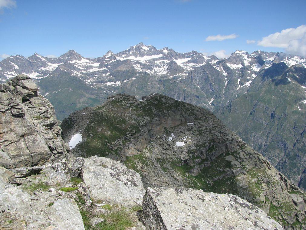Dalla vetta del Monte Giardonera