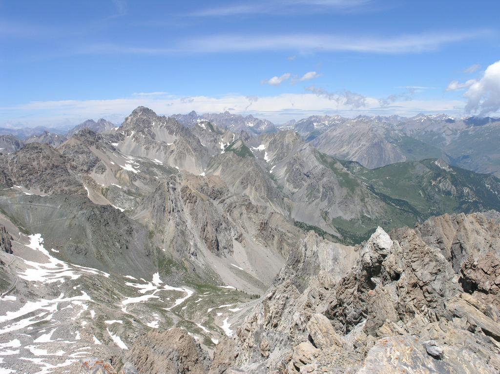 Oserot (Monte) da Viviere, anello per i Passi Gardetta e Rocca Brancia 2009-07-10