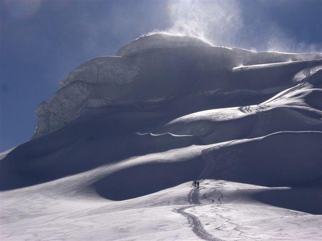 Pisco (Nevado) parete sud 2009-07-10