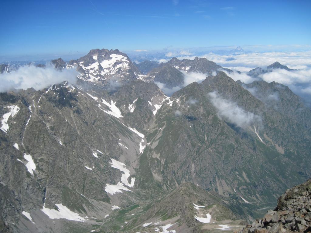 Panorama verso l'Argentera