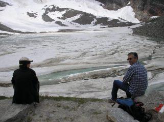 lago delle locce con Alla e Eugenio