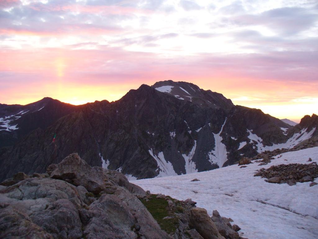 i colori dell'alba nel cielo...
