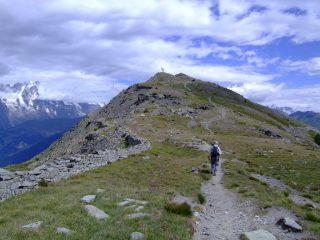 La Punta della Croce vista dal Colle della Croce.