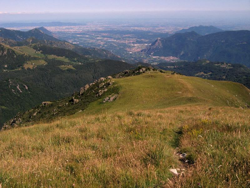 Torino e imbocco della Val di Susa
