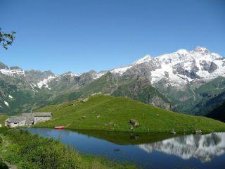 Alpe Campo e laghetto
