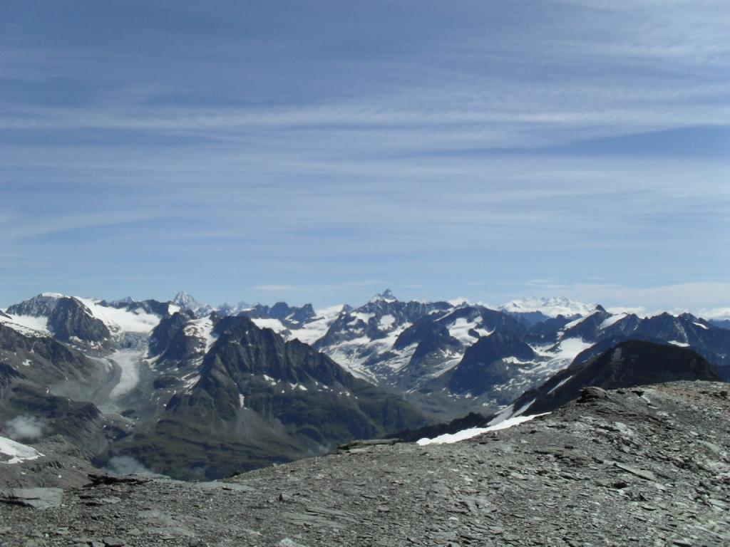 Panorama dalla Tete Blenche