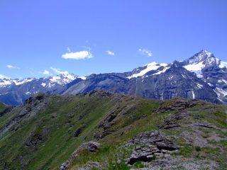 la panoramica cresta dal colle 2584 alla punta (sentiero n°1)