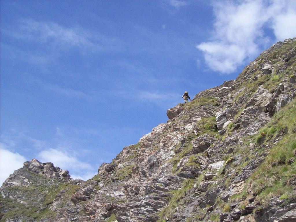 Cresta verso la vetta