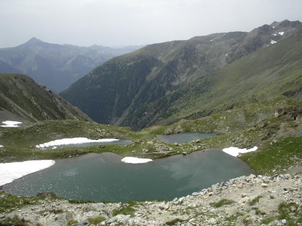 Gli stupendi laghi Lausfer