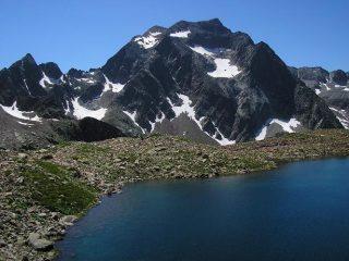 Malinvern visto dai laghi della Paur