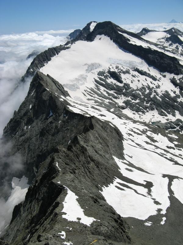 Punta e ghiacciao d'Arnas