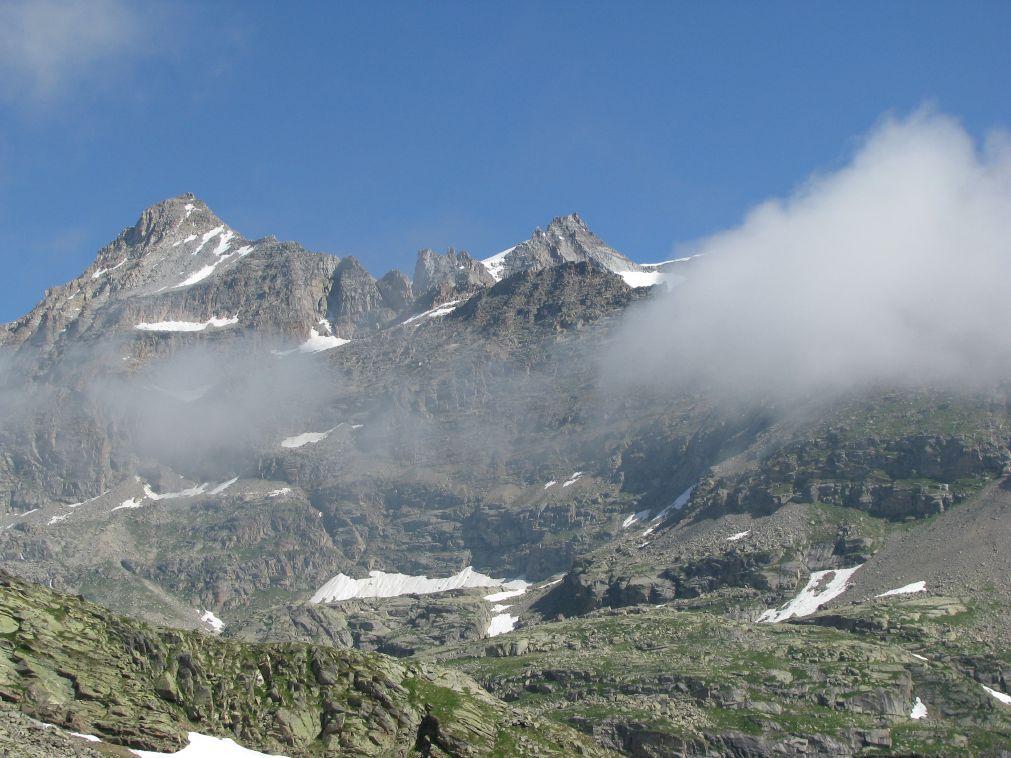 Tresenta, la Becca di Montcorvè e il  Roc