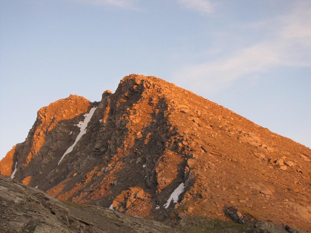 il ghinivert al tramonto: spettacolare!!!